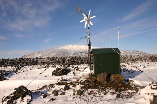 Hekla strain station